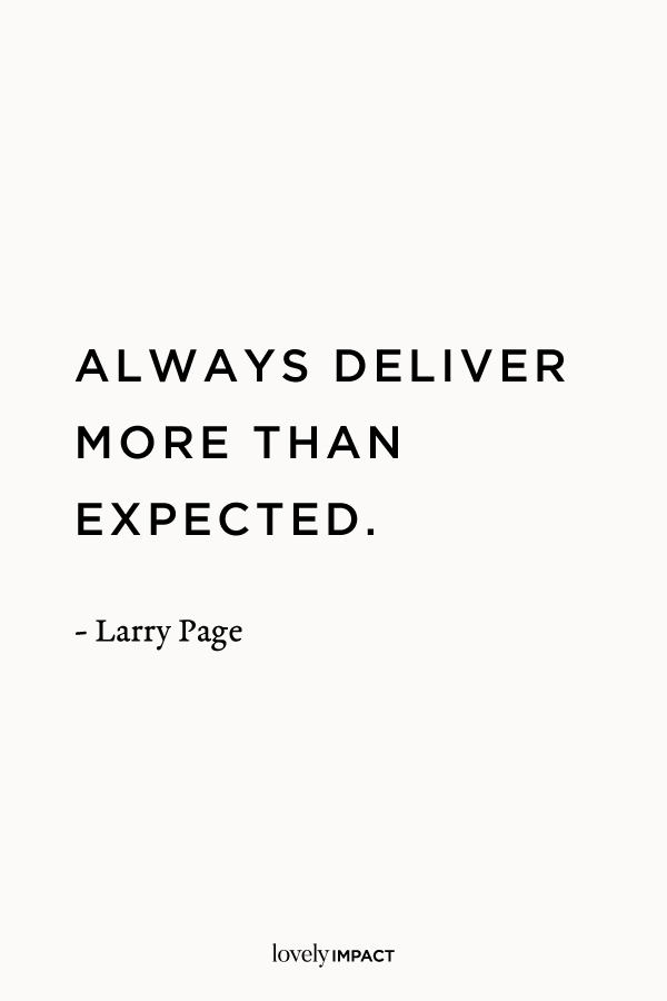 Larry Page, Business Quote