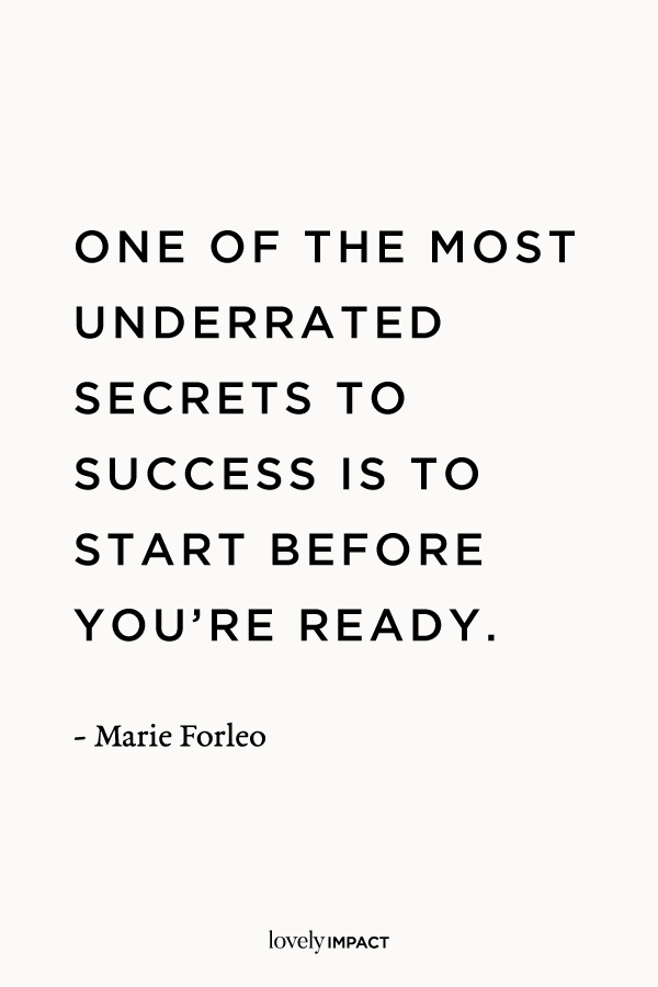 Marie Forleo, Success Motivational Quote