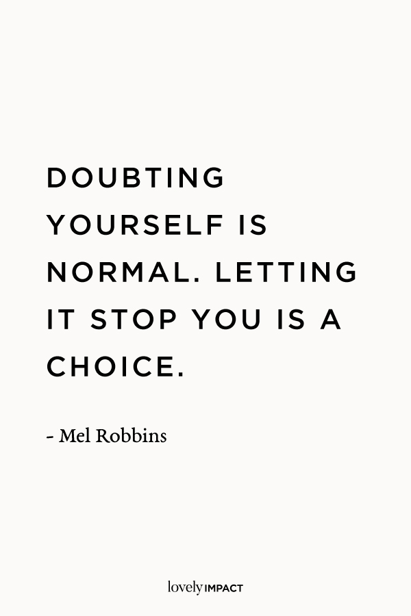Mel Robbins, Business Motivation Quote