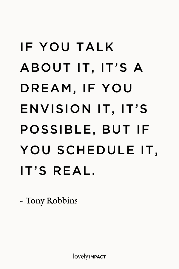 Tony Robbins Business Motivation Quote
