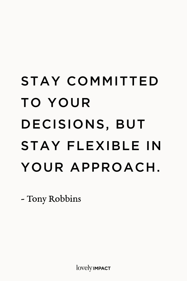 Tony Robbins, Business Motivation Quote Two