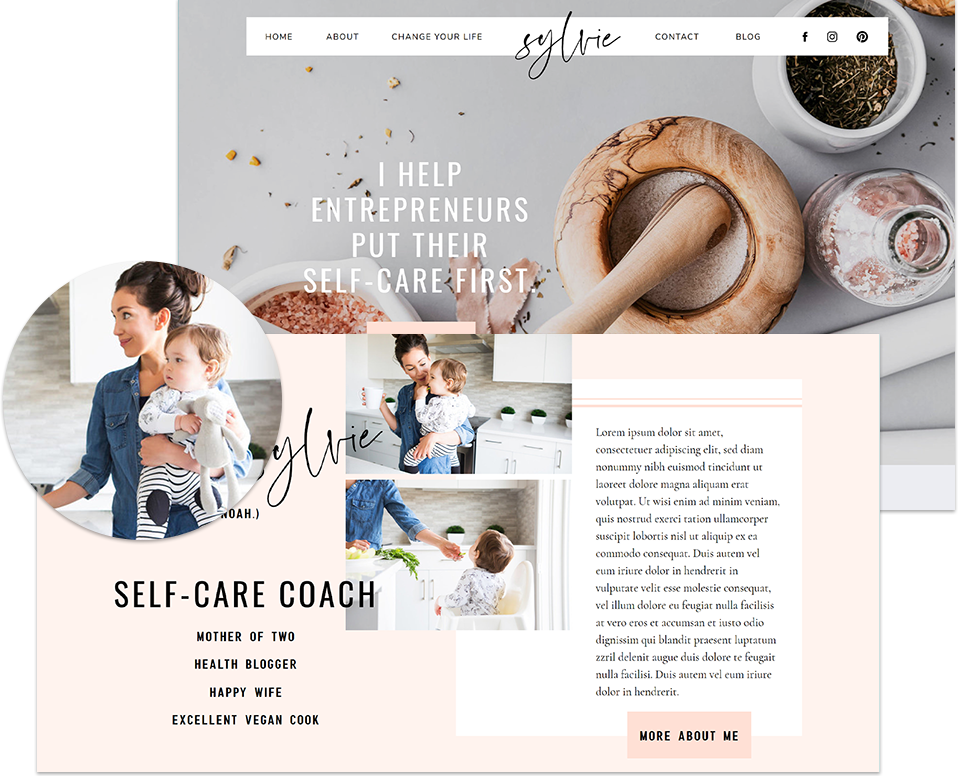 launch your coaching website fast - lovely impact
