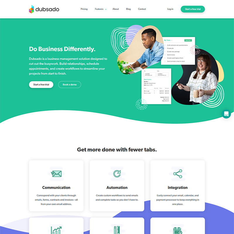 Dubsado Business Management Solution