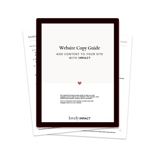 Website Copy Guide for Coaches