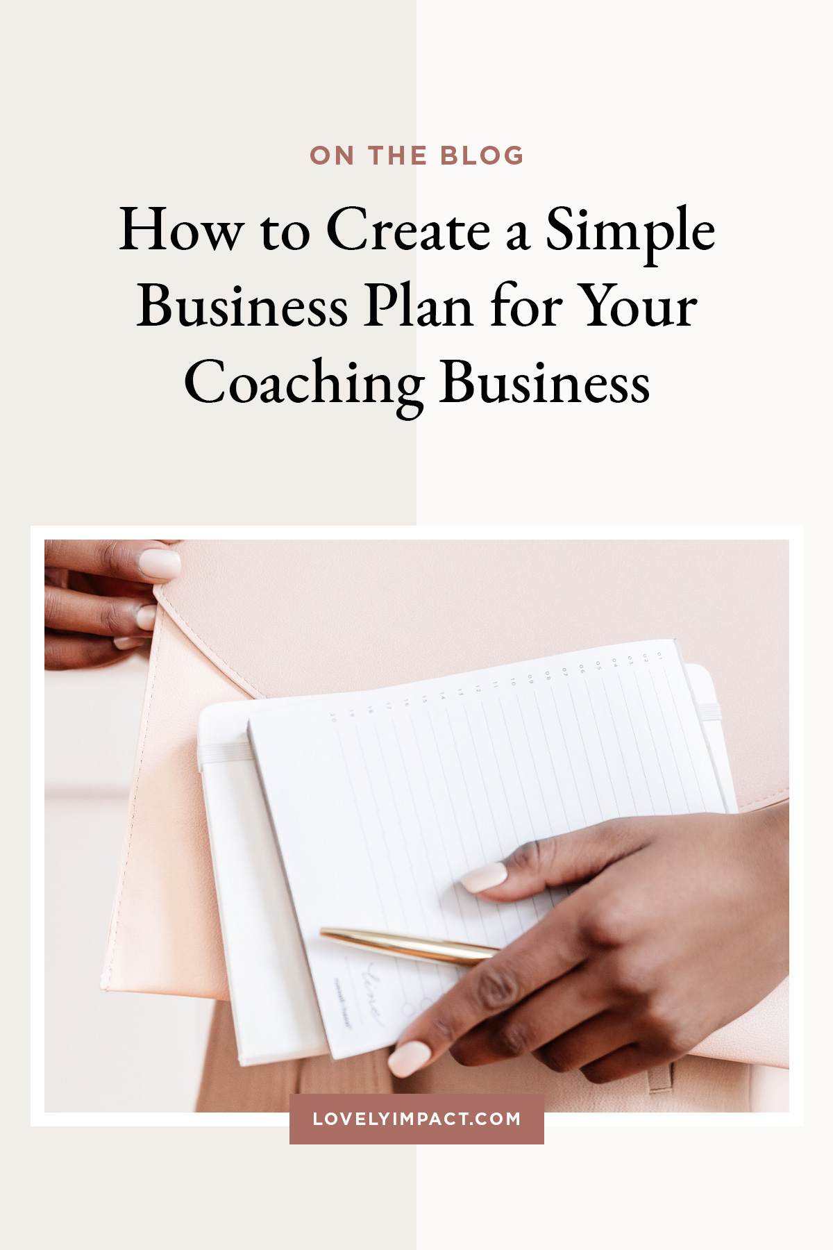 How to Create a Simple Business Plan for Your Coaching Business