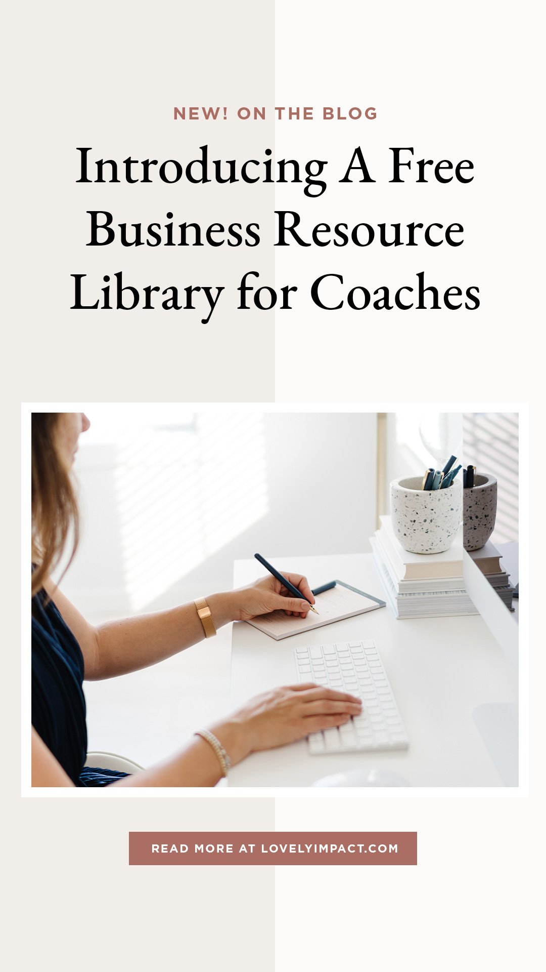 Introducing A Free Business Resource Library for Coaches