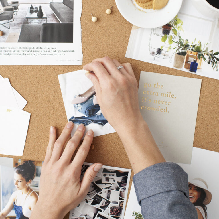 How to Create a Mood Board for Your Coaching Brand