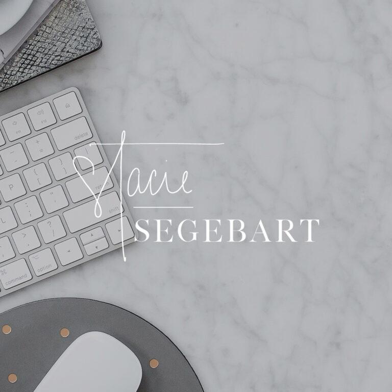 Stacie Segebart Brand Design + Logo Creation