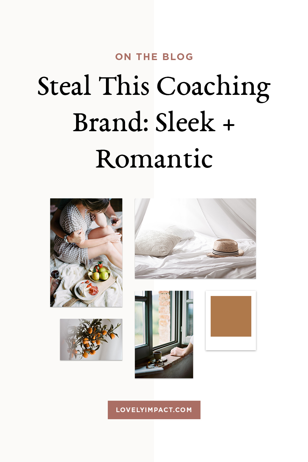 Steal This Coaching Brand: Sleek + Romantic