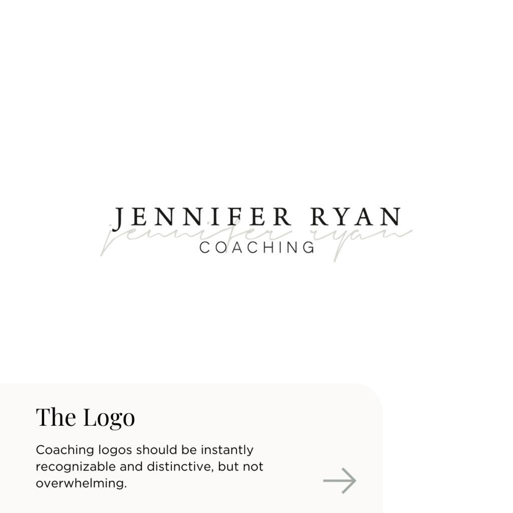 Custom Branding Design for Relationship Coach Jennifer Ryan