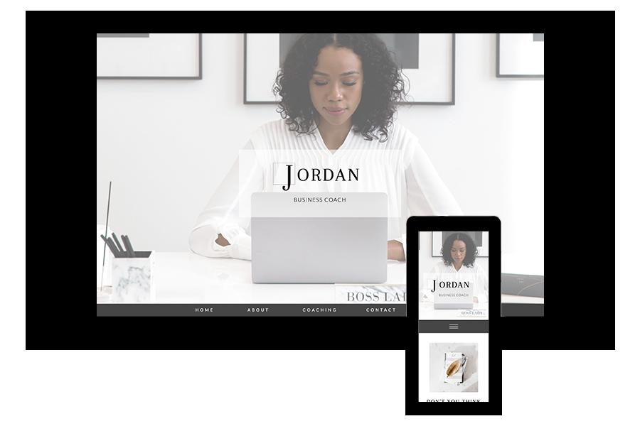 Business Coaching Website Template