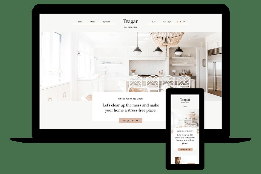 Professional Organizer Website Template