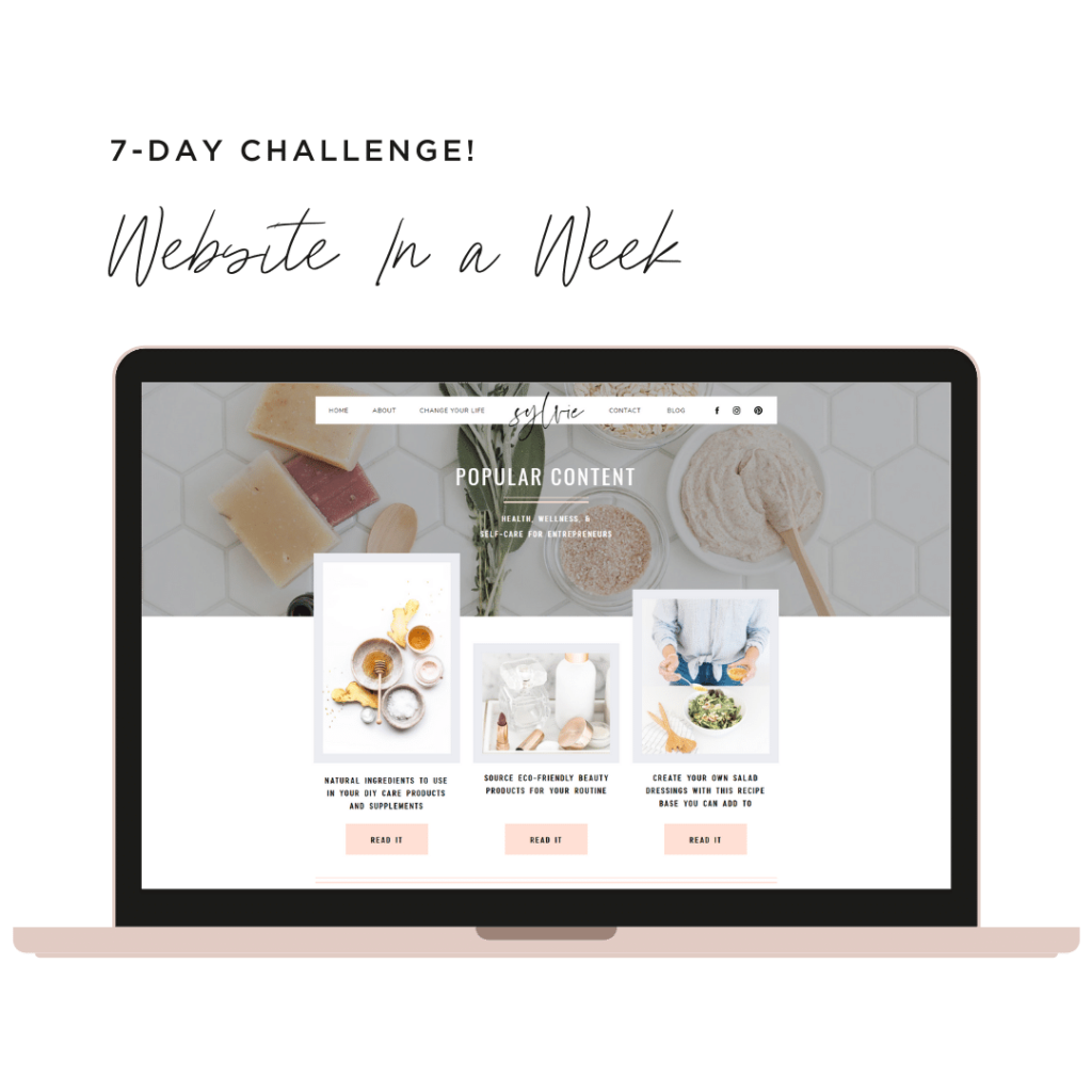 Website in a week challenge - Supercharge Your Health Coaching Template!